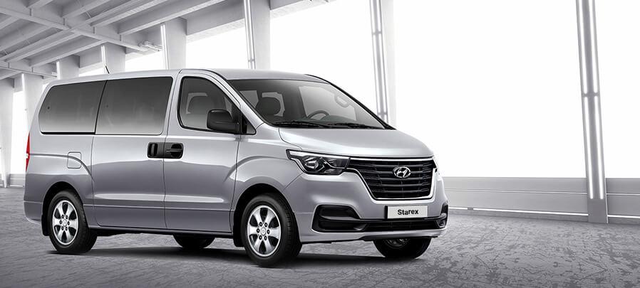 Tampilan depan Hyundai Starex 2019 carmudi indonesia
