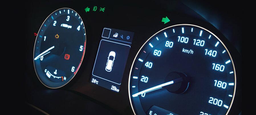 Tampilan speedometer Hyundai i20 2019 carmudi indonesia