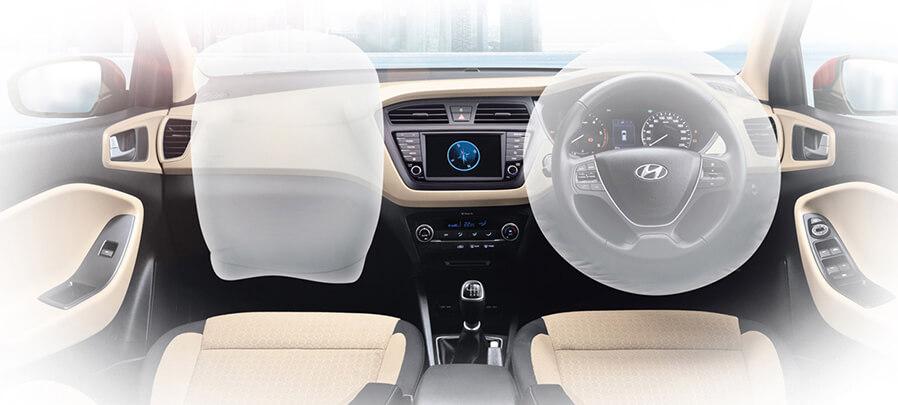 Tampilan air bag Hyundai i20 2019 carmudi indonesia