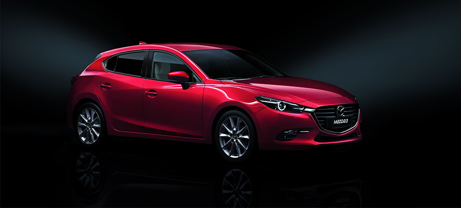 Tampilan depan Mazda 3 2019 carmudi indonesia