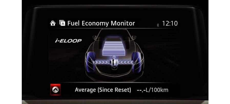 Tampilan monitor Mazda 3 2019 carmudi indonesia