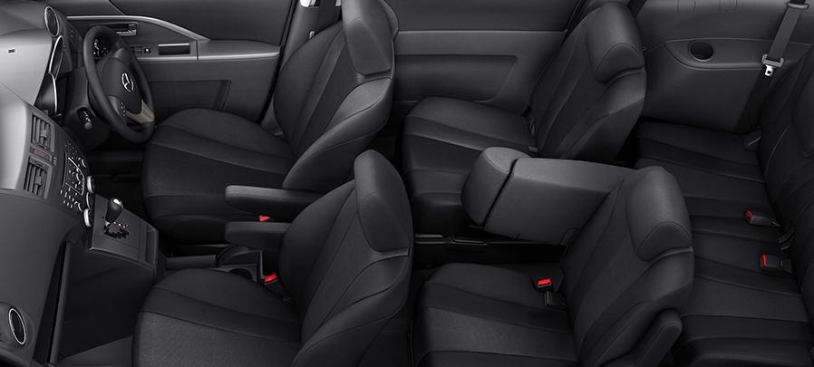 Tampilan interior Mazda 5 2019 carmudi indonesia