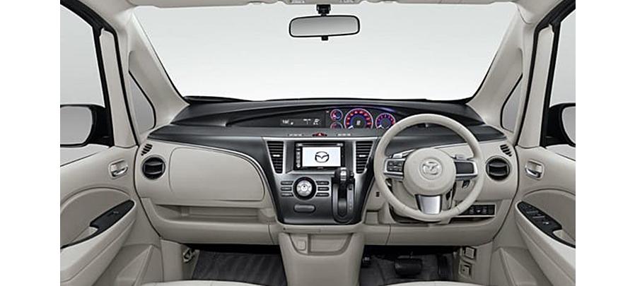 tampilan dashboard Mazda Biante 2019 Baru dijual di Carmudi Indonesia