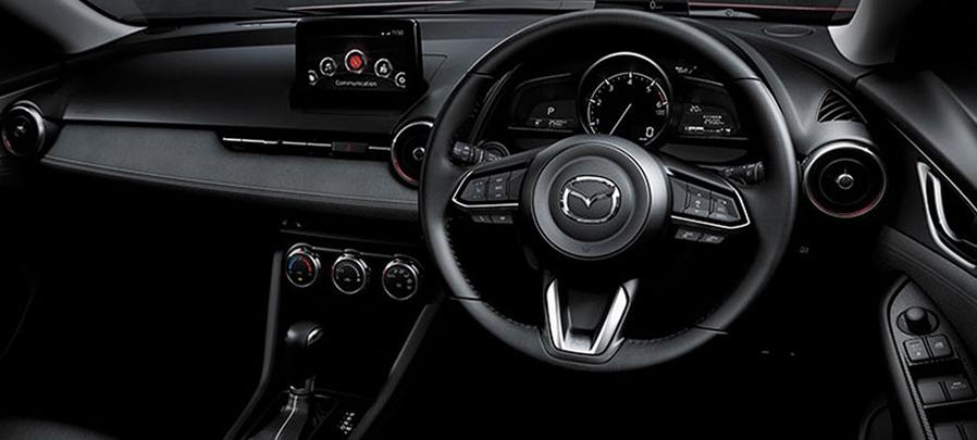 Tampilan dashboard Mazda CX-3 2019 carmudi indonesia