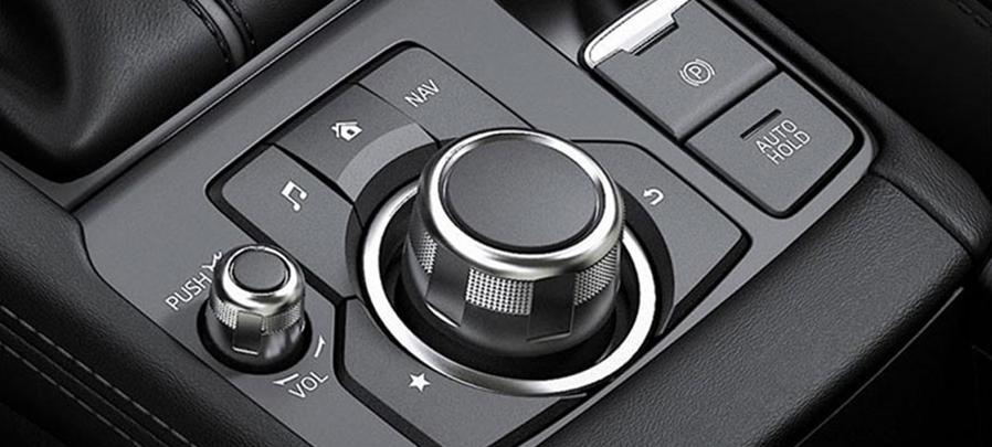 Tampilan panel Belakang Mazda CX-3 2019 carmudi indonesia