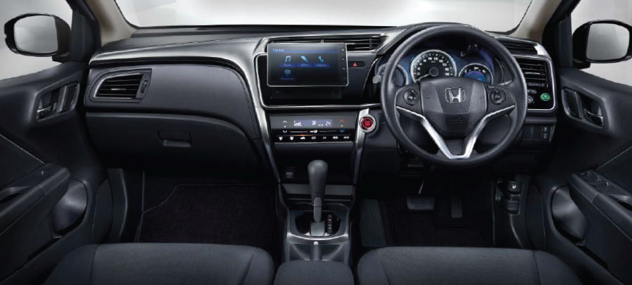 tampilan dashboard honda city 2019 camrudi indonesia