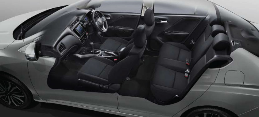 tampilan interior honda city 2019 camrudi indonesia