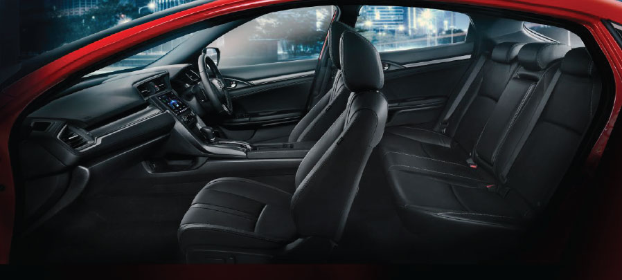 tampilan interior honda civic hatchback 2019 carmudi indonesia