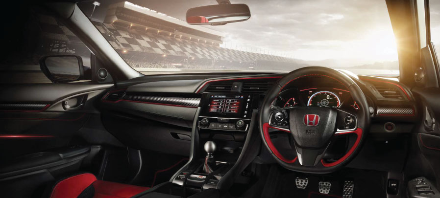 tampilan dashboard honda civic type r 2019 carmudi indonesia