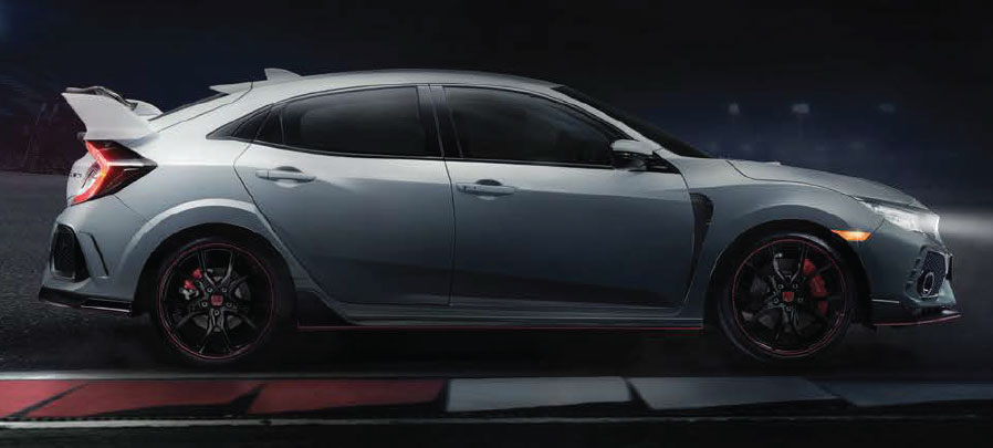 tampilan samping honda civic type r 2019 carmudi indonesia