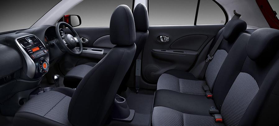 Tampilan interior Nissan March 2019 carmudi indonesia